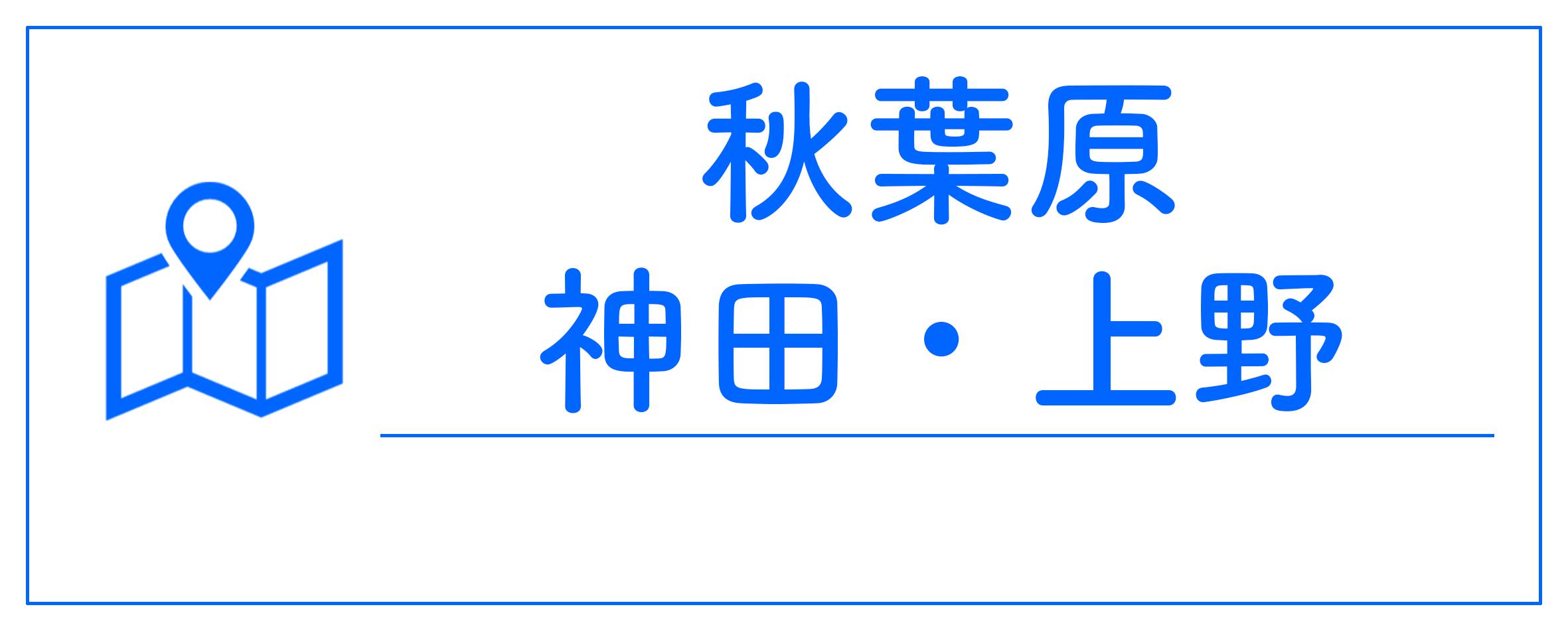 秋葉原神田上野