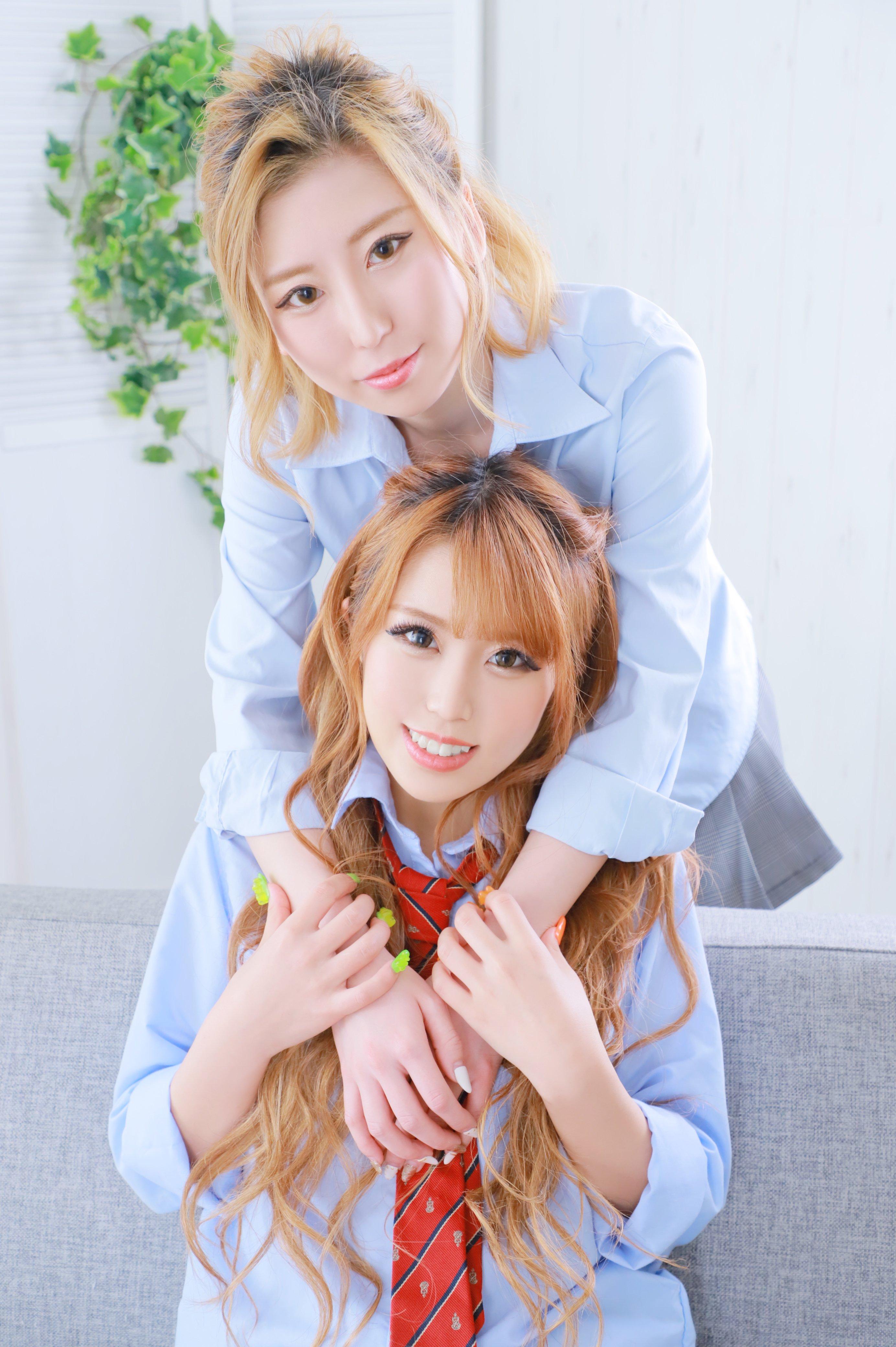 【グラビア】池袋『chocolate kiss』の最強姉妹を激写!